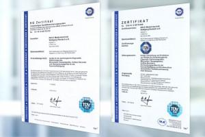TÜV Certificates